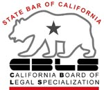 CA State Bar Legal Specialization Logo