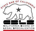 CA State Bar Legal Specialization Logo